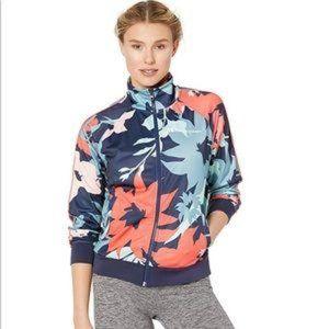 Champion Floral Print Track Jacket Full Zip M